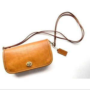 Restored Pre-Creed Coach Saddle Leather Dinky